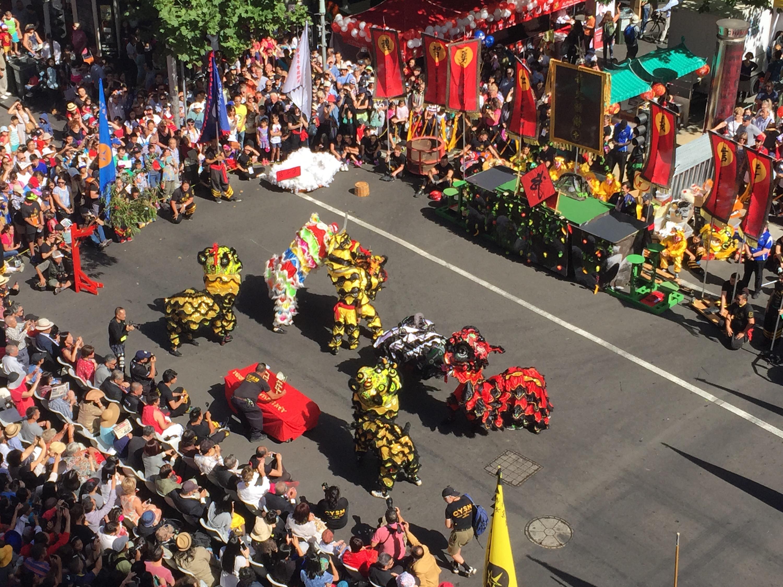 chinatown parade chinese new year